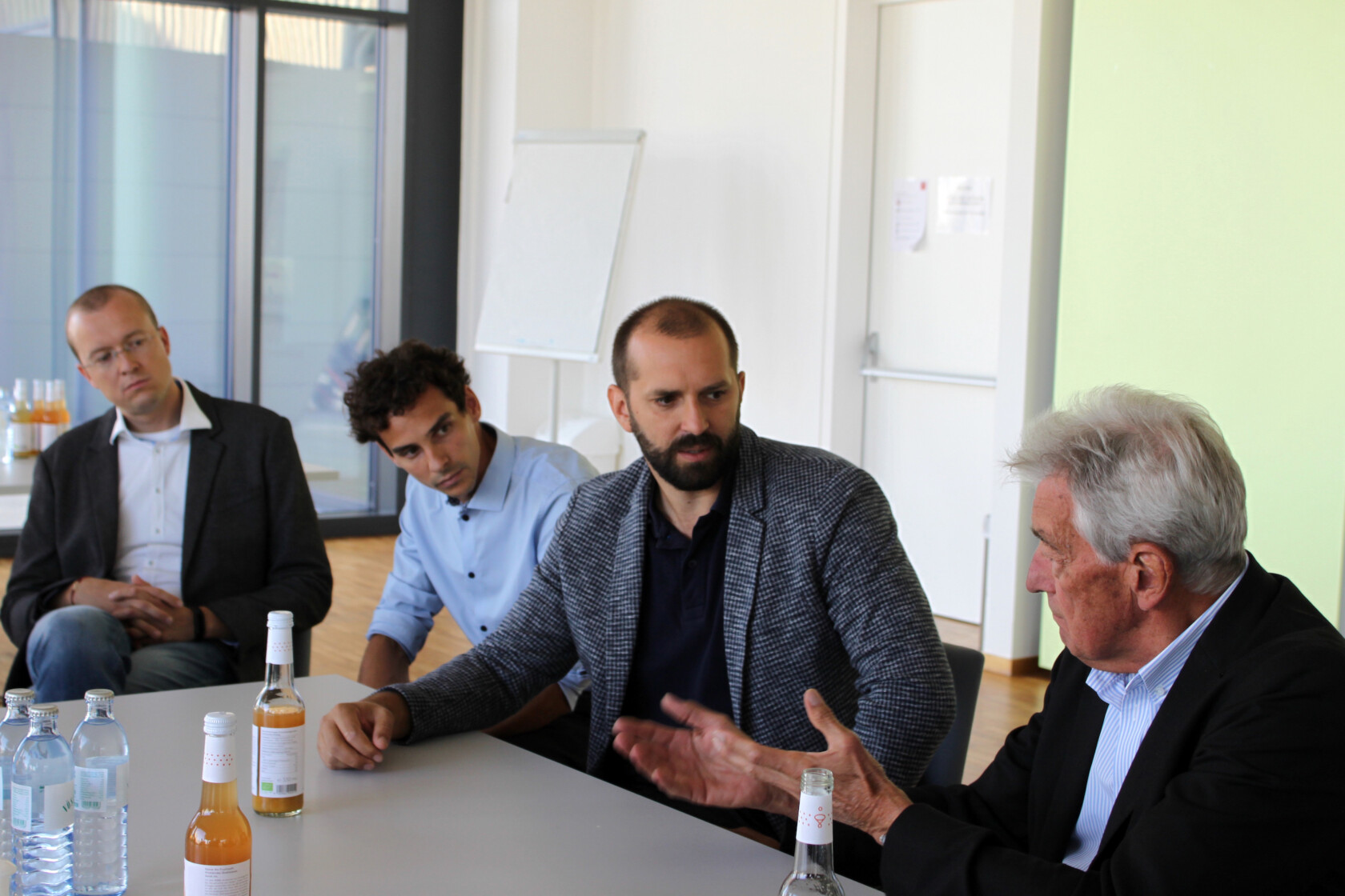 Bei einem exklusiven Workshop in Kooperation mit dem Innnovationslabor Digital Findet Stadt brachte der VZI am 10. September 2021 die Pioniere der Automatisierung mit führenden Unternehmen der Baubranche an einen Tisch.